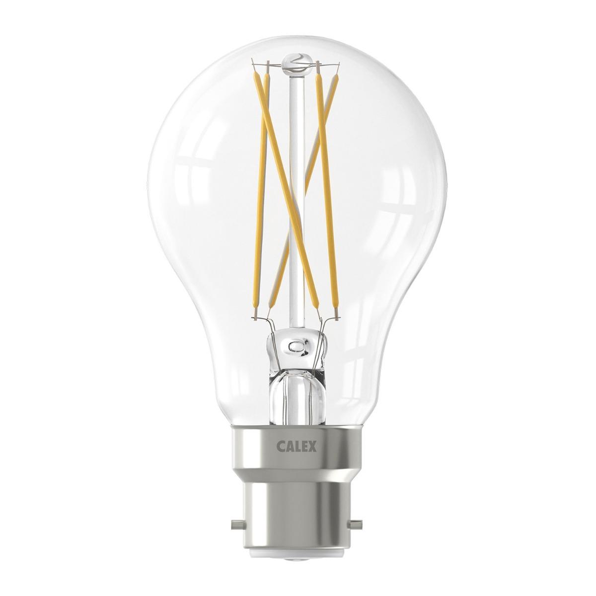 Bilde av Calex Smart Standard Led Pære B22 7w 806lm 1800-3000k Filament | Tuya Wifi - Innstillbar Hvit