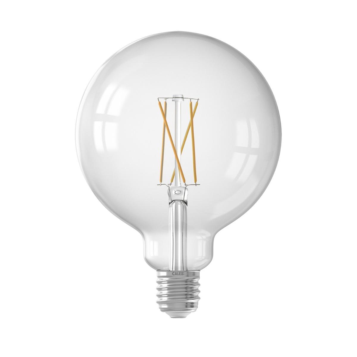 Bilde av Calex Smart Globe G125 E27 7,5w 1055lm 1800-3000k Filament | Tuya Wifi - Innstillbar Hvit