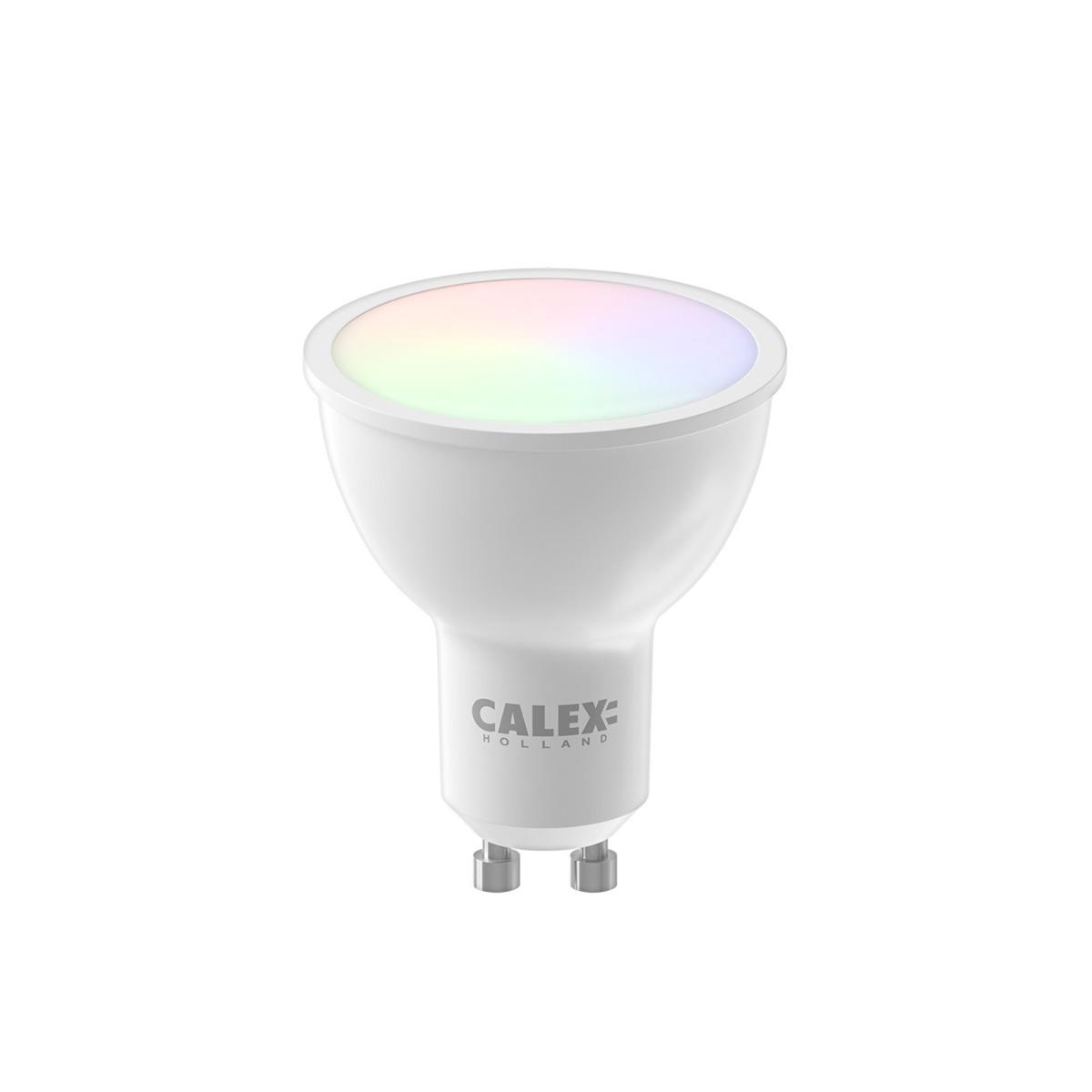 Bilde av Calex Smart Reflektor Led Spot Gu10 5w 350lm 2200-4000k | Tuya Wifi - Color Ambiance + Innstillbar Hvit