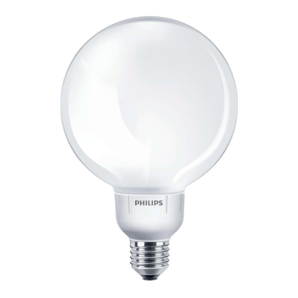 Philips Softone Globe 16W 827 E27 G120   ekstra varm hvit