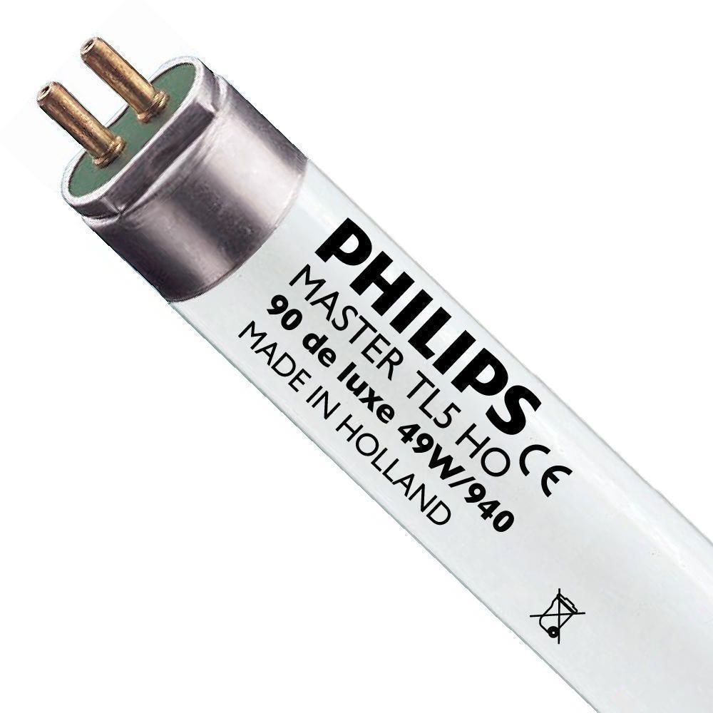 Philips TL5 HO 90 De Luxe 49W 940 (MASTER) | 145cm - kald hvit