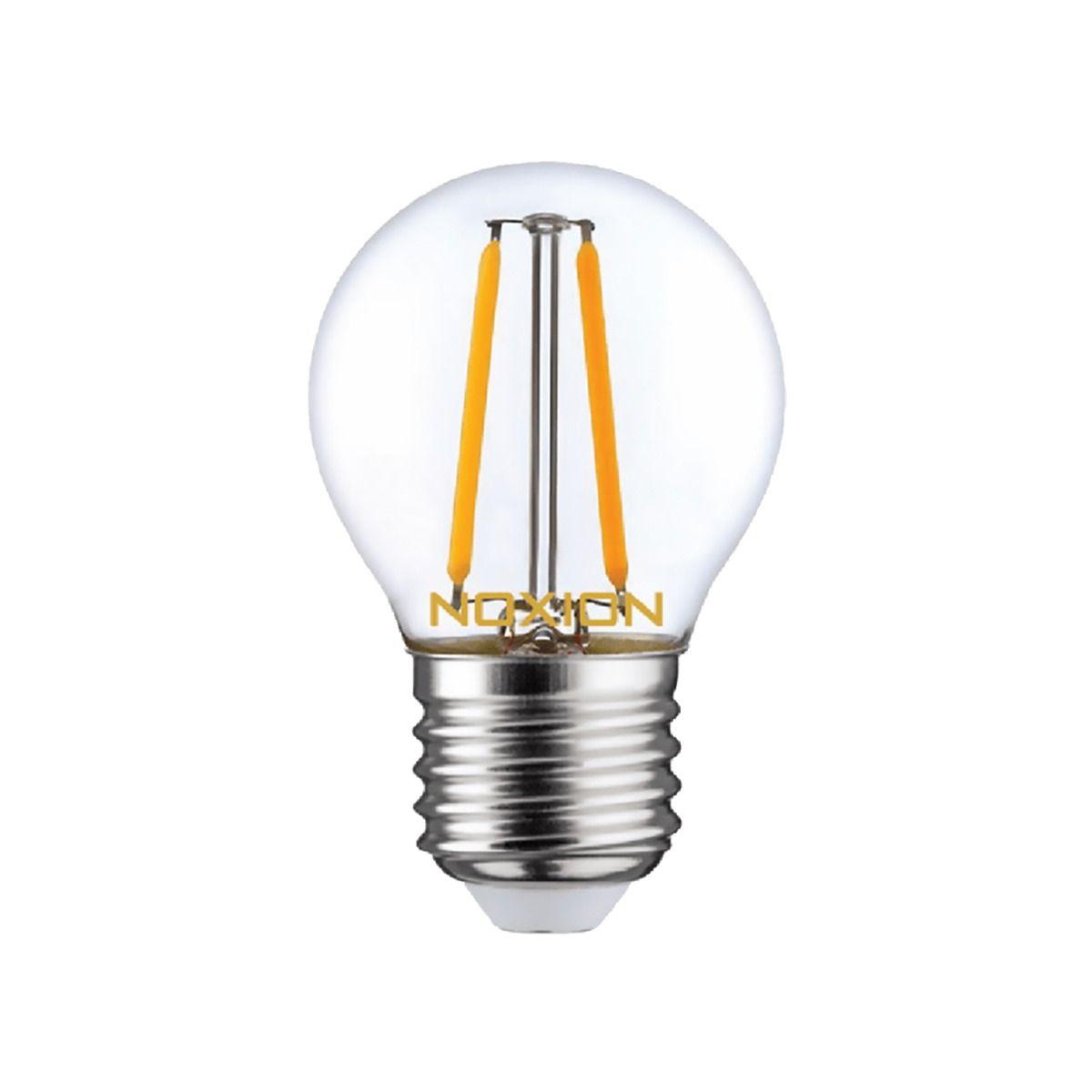 Noxion Lucent LED Lustre E27 2.6W 827 filament   ekstra varm hvit - erstatter 25W