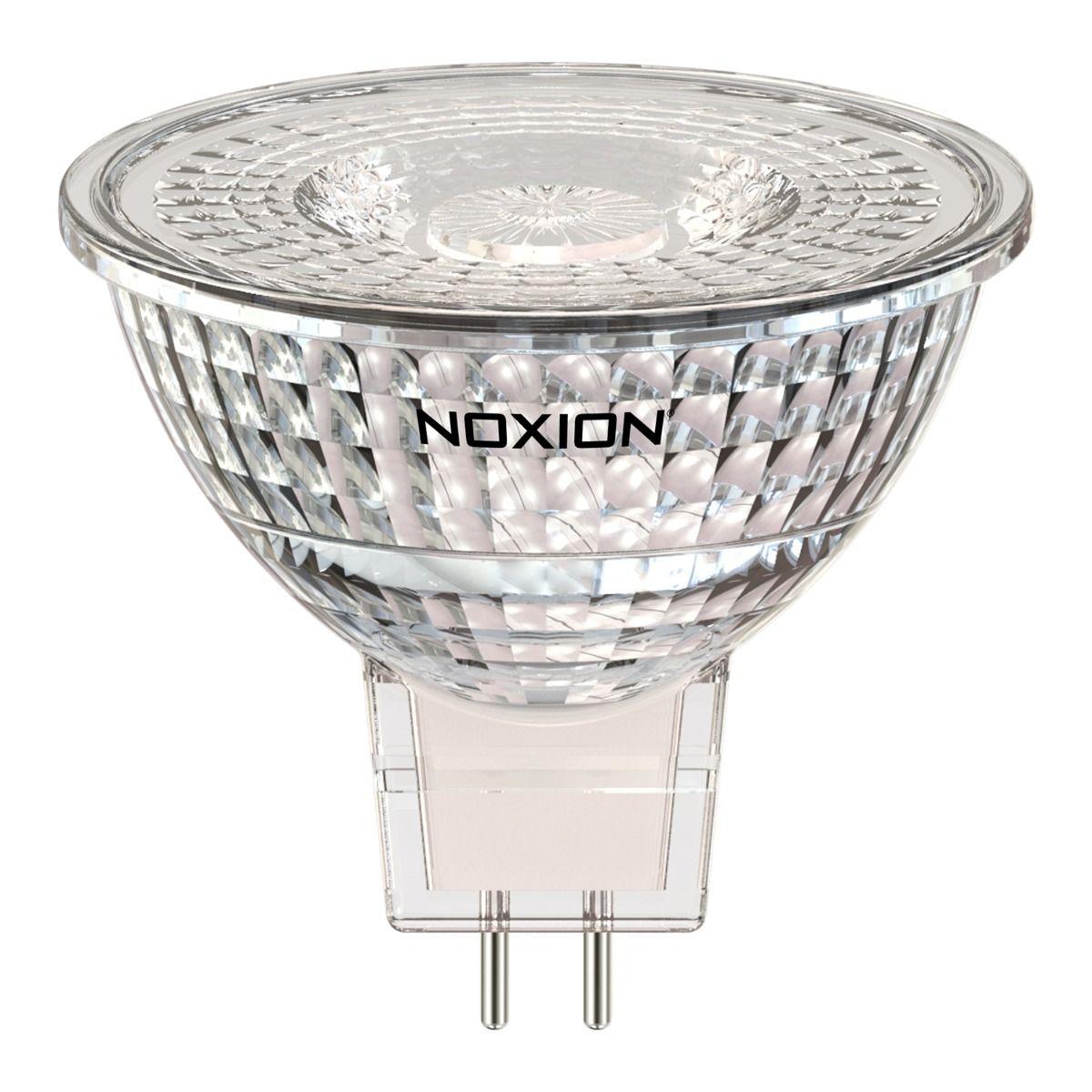 Noxion LED spot GU5.3 5W 830 60D 470lm   dimbar - varm hvit - erstatter 35W
