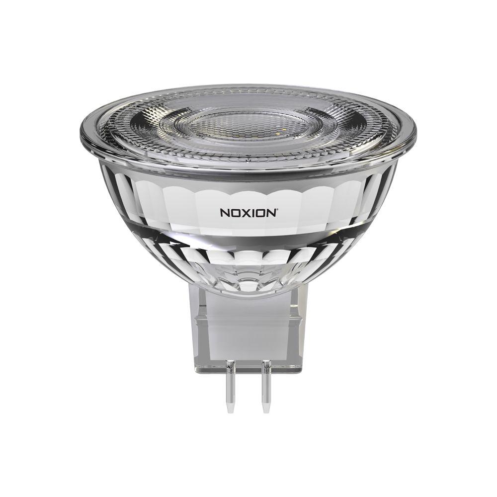 Noxion LED spot GU5.3 7.5W 830 36D 621lm   dimbar - varm hvit - erstatter 50W