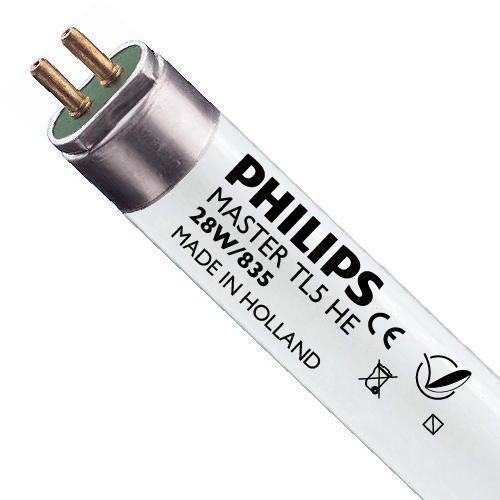 Philips TL5 HE 28W 835 (MASTER) | 115cm - kald hvit