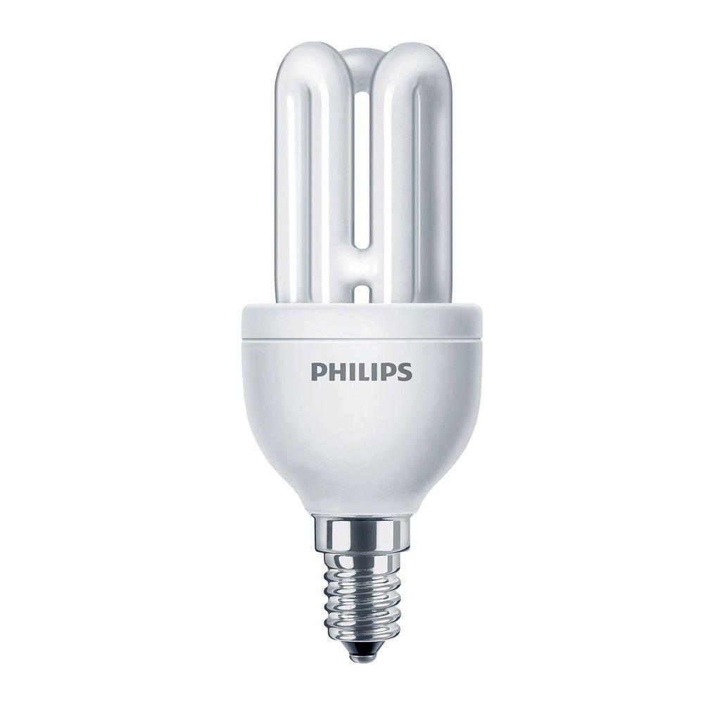 Philips Genie ESaver 8W 827 E14 | ekstra varm hvit