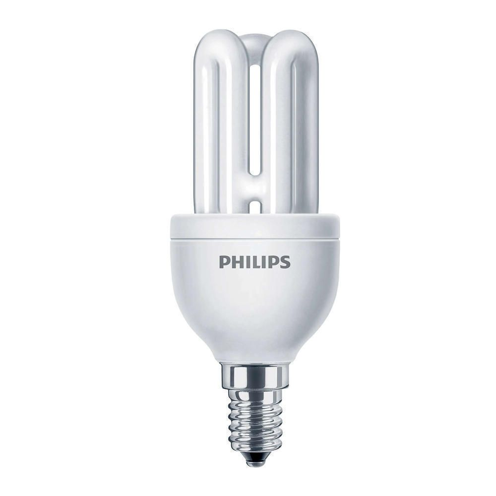 Philips Genie ESaver 11W 827 E14 | ekstra varm hvit