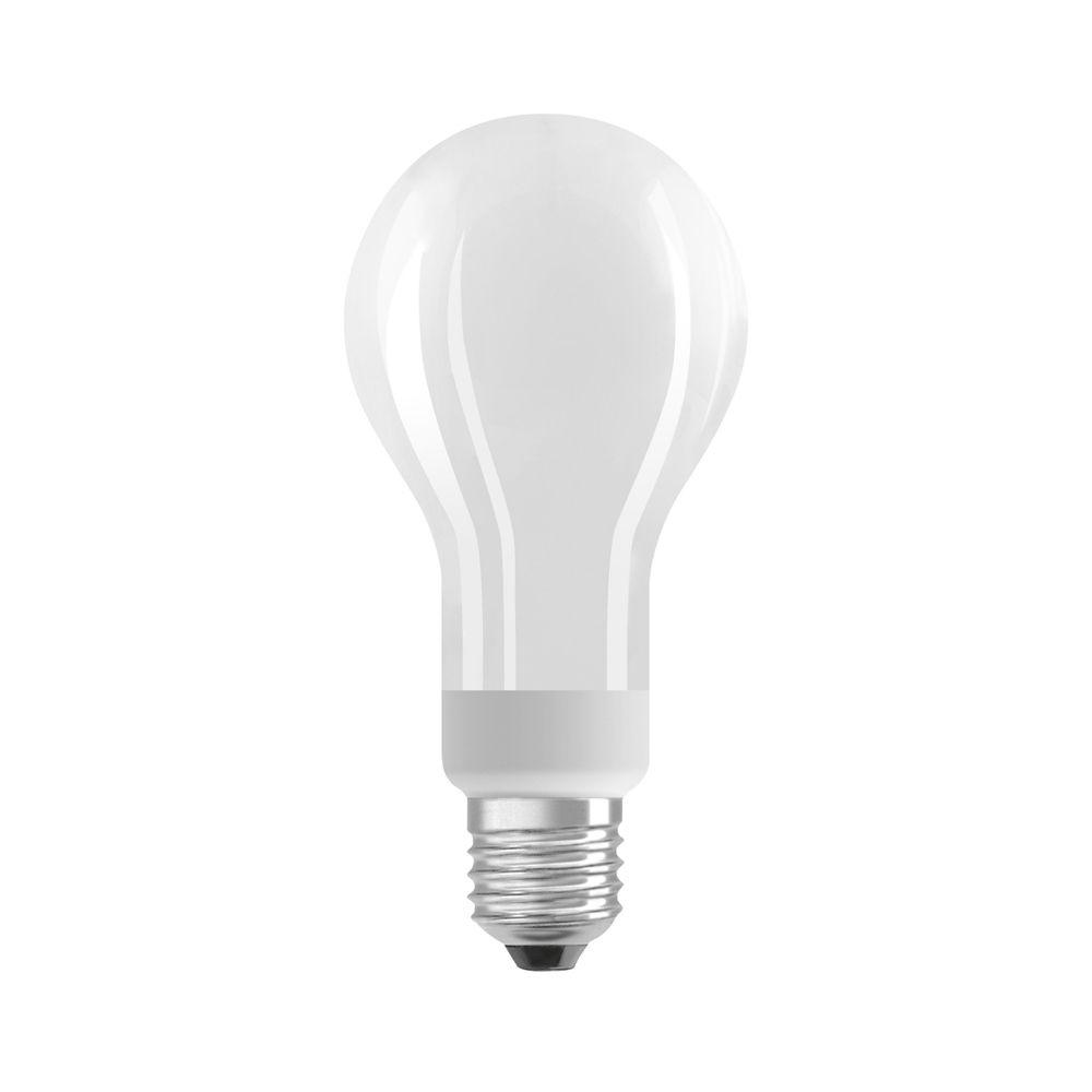 Osram Parathom E27 A67 18W 827 2452lm matt   dimbar - ekstra varm hvit - erstatter 150W