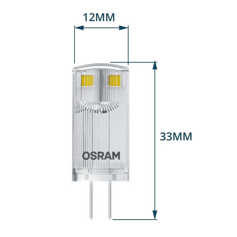 Osram Parathom Pin G4 0.9W 827 klar   erstatter 10W