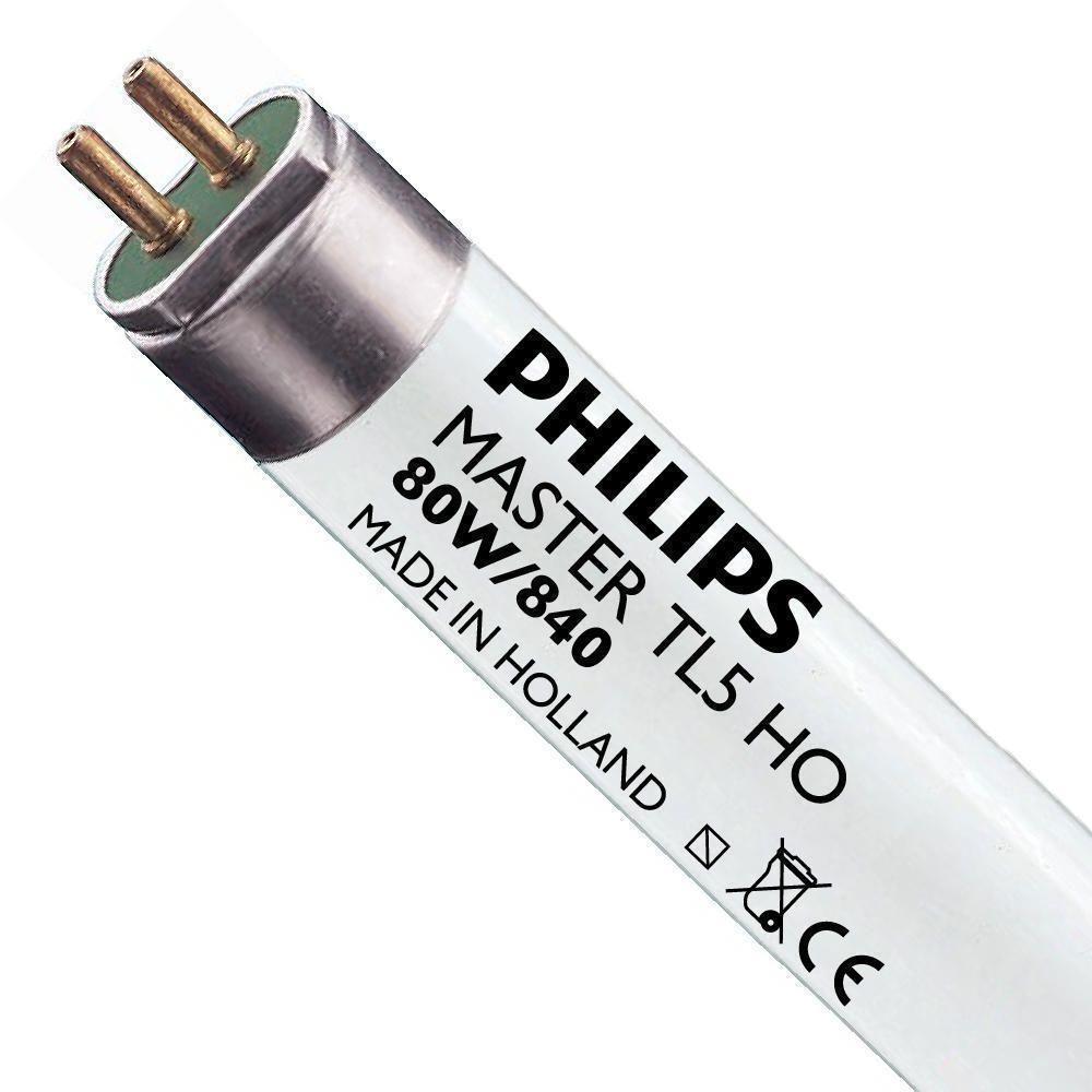 Philips TL5 HO 80W 840 (MASTER) | 145cm - kald hvit