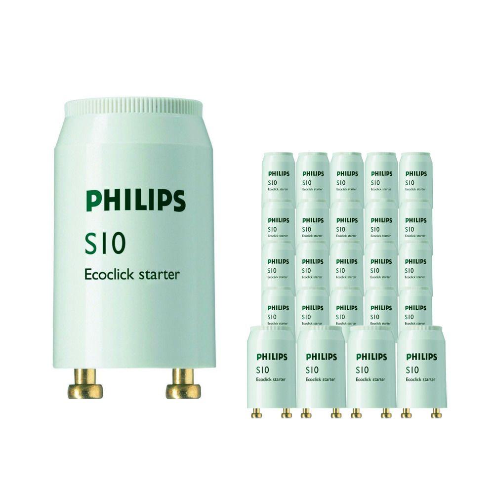 Fordelspakning 25x Philips S10 Starter 4-65W SIN
