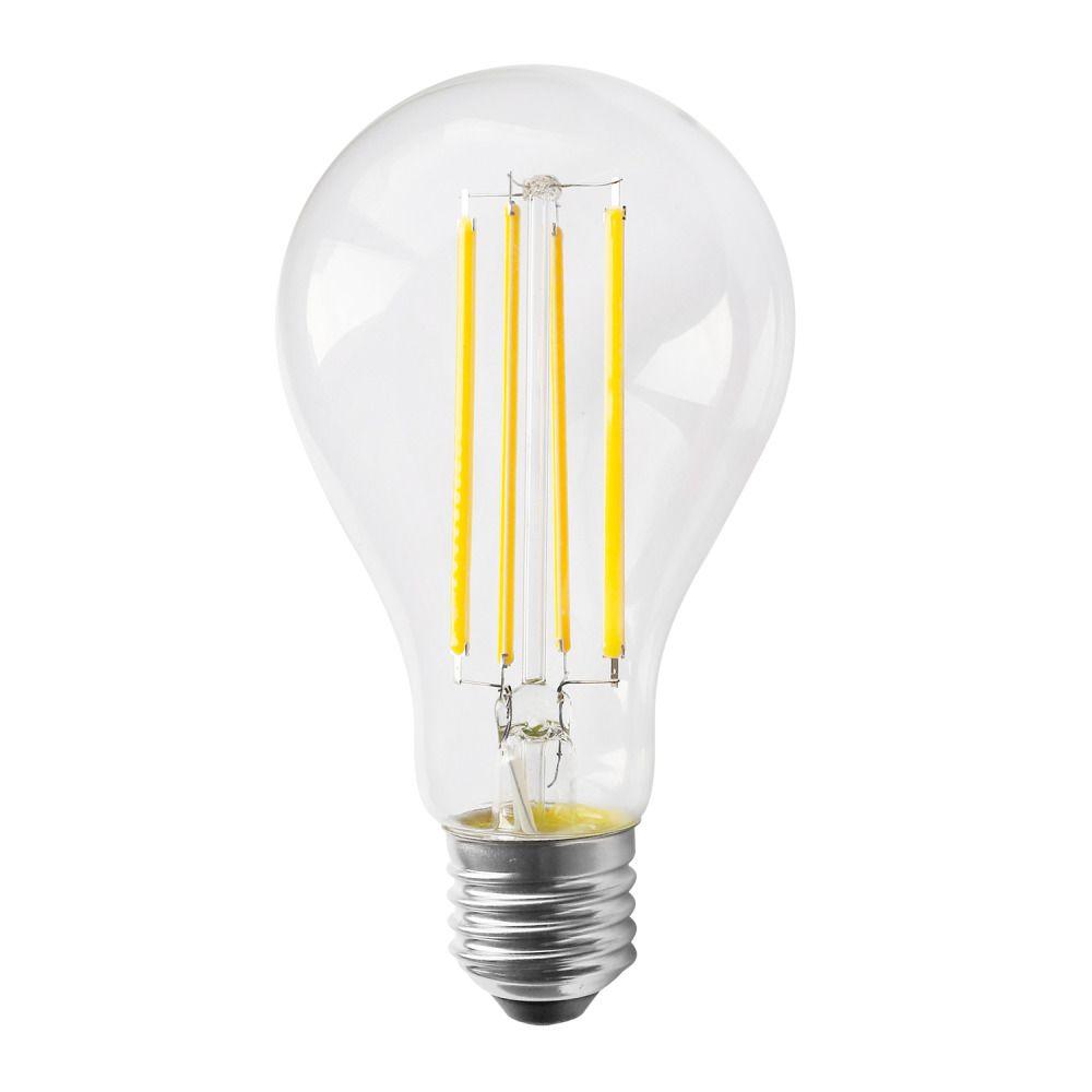 Noxion Lucent Classic LED filament A70 E27 13W 827 klar   dimbar - ekstra varm hvit - erstatter 100W