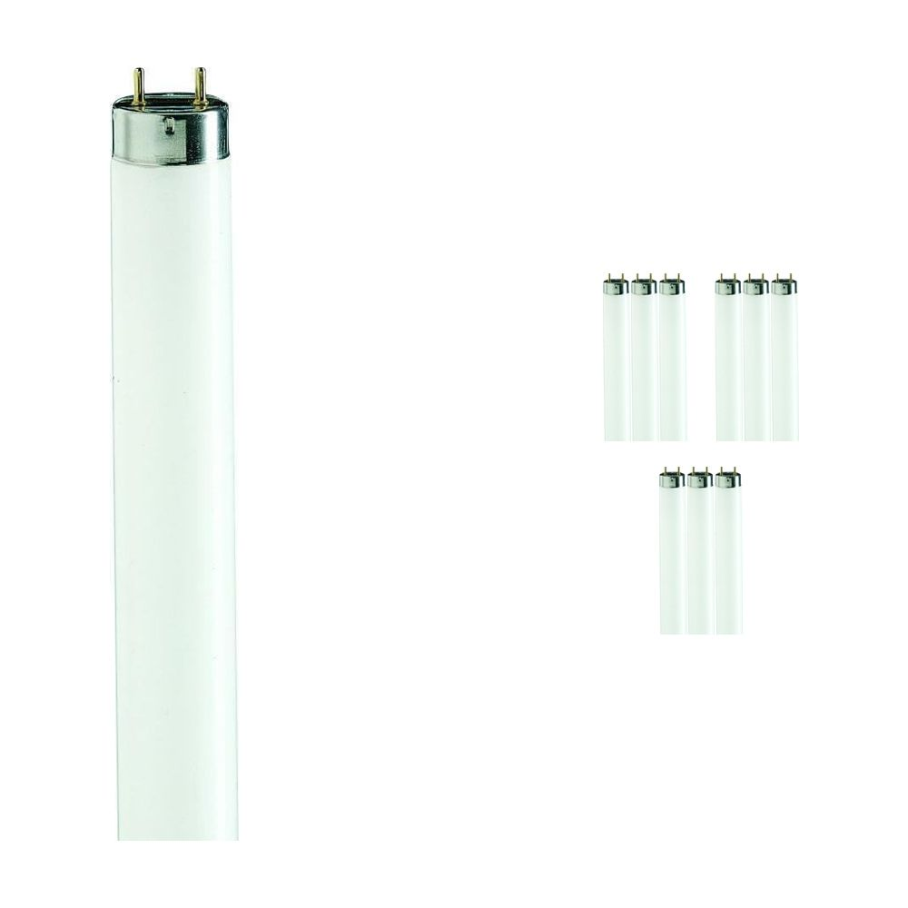 Fordelspakning 10x Philips TL-D 90 De Luxe 36W 965 - 120cm (MASTER)