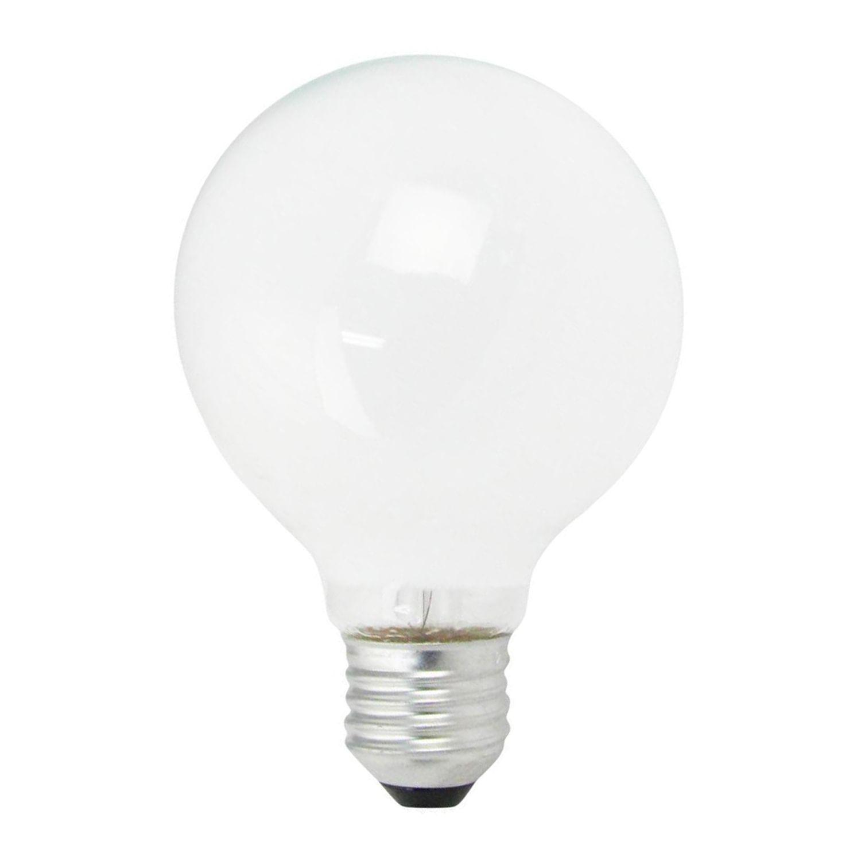 Standard Glødepære Globe Opal E27 G95 25W 230V
