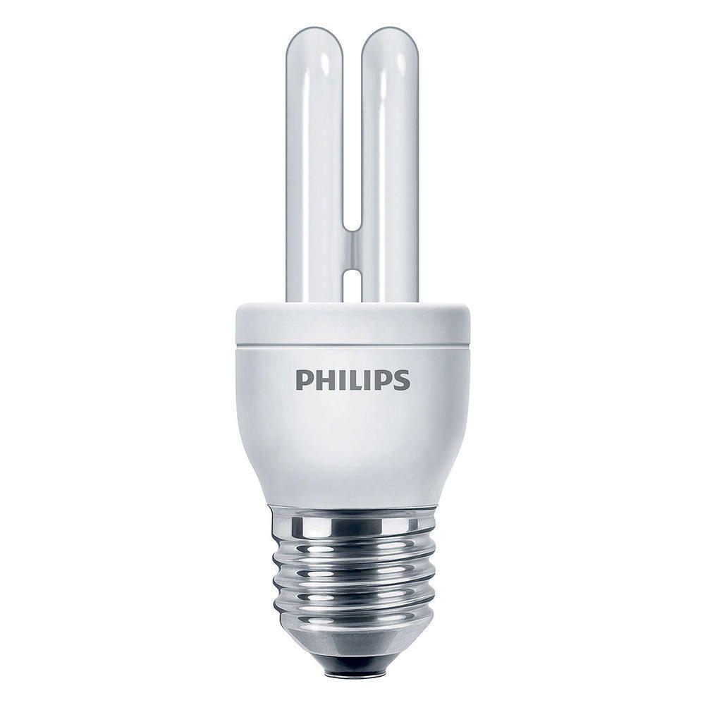 Philips Genie ESaver 5W 827 E27   ekstra varm hvit