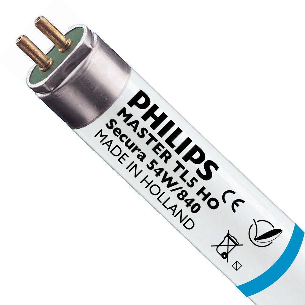 Philips TL5 HO Secura 54W 840 (MASTER)   115cm - kald hvit