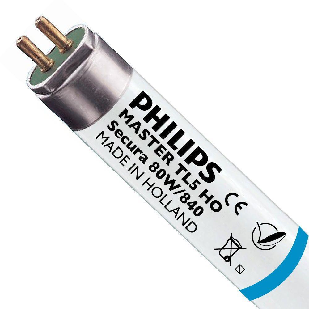 Philips TL5 HO Secura 80W 840 (MASTER) | 145cm - kald hvit