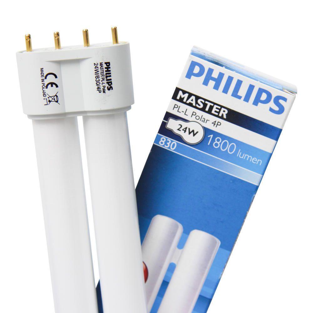 Philips PL-L 40W 830 4P (MASTER) | varm hvit - 4-stift
