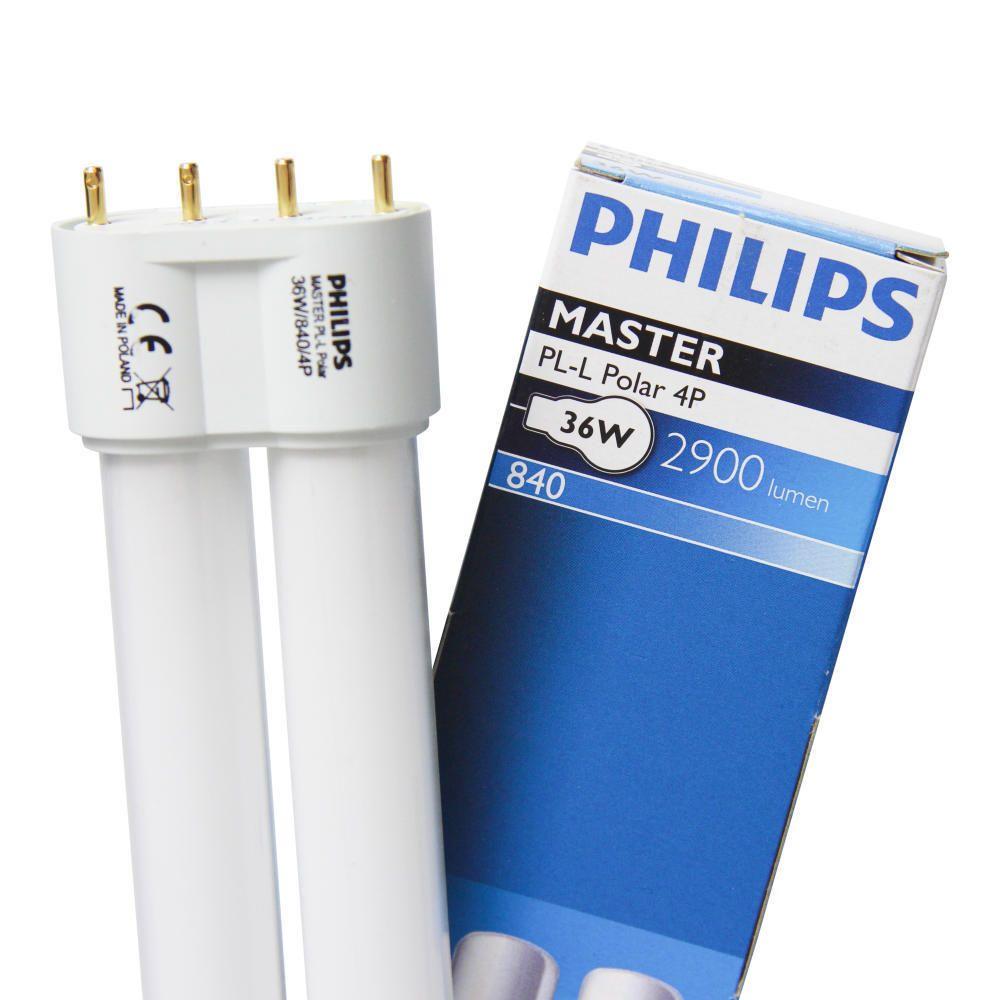 Philips PL-L Polar 36W 840 4P (MASTER) | kald hvit - 4-stift