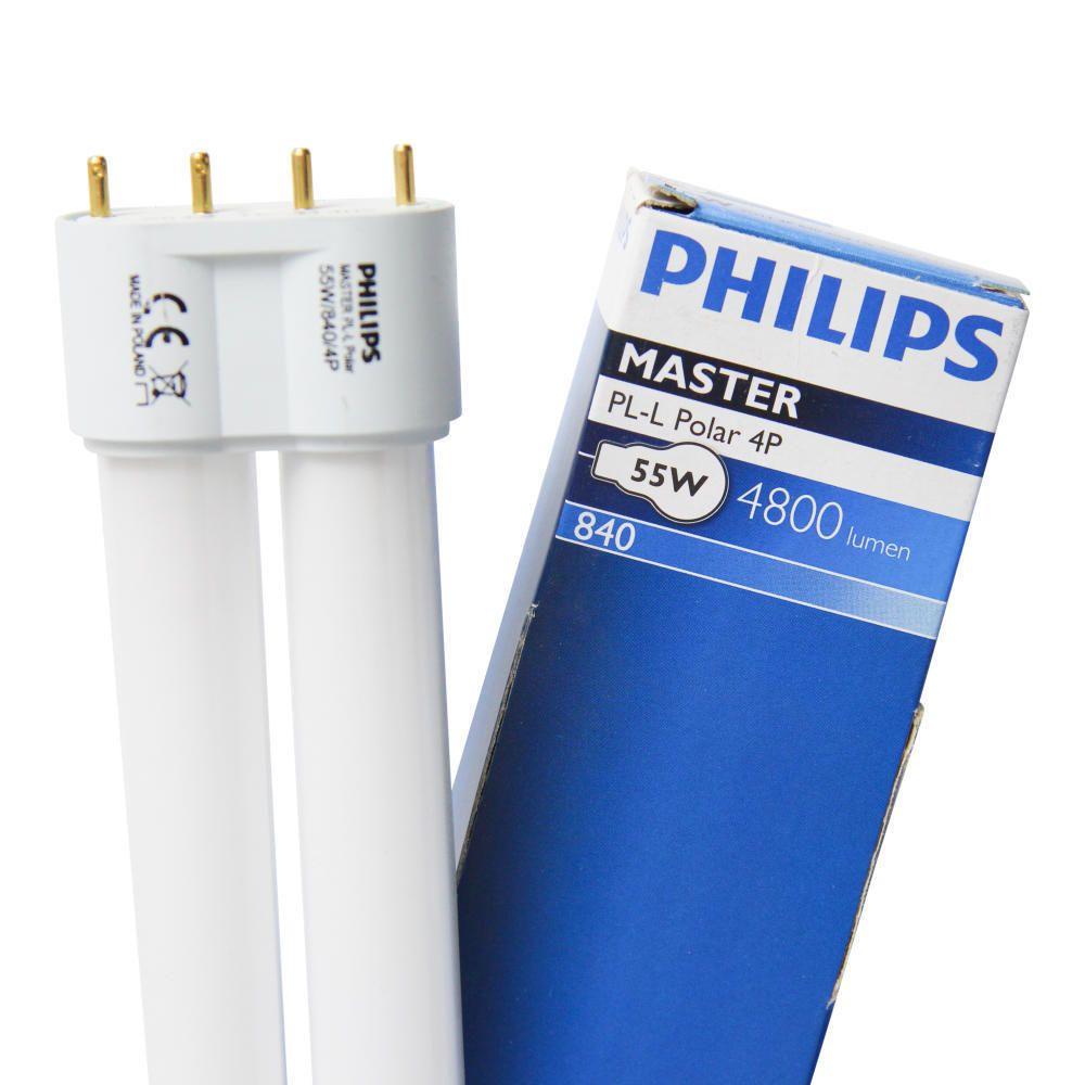 Philips PL-L Polar 55W 840 4P (MASTER) | kald hvit - 4-stift