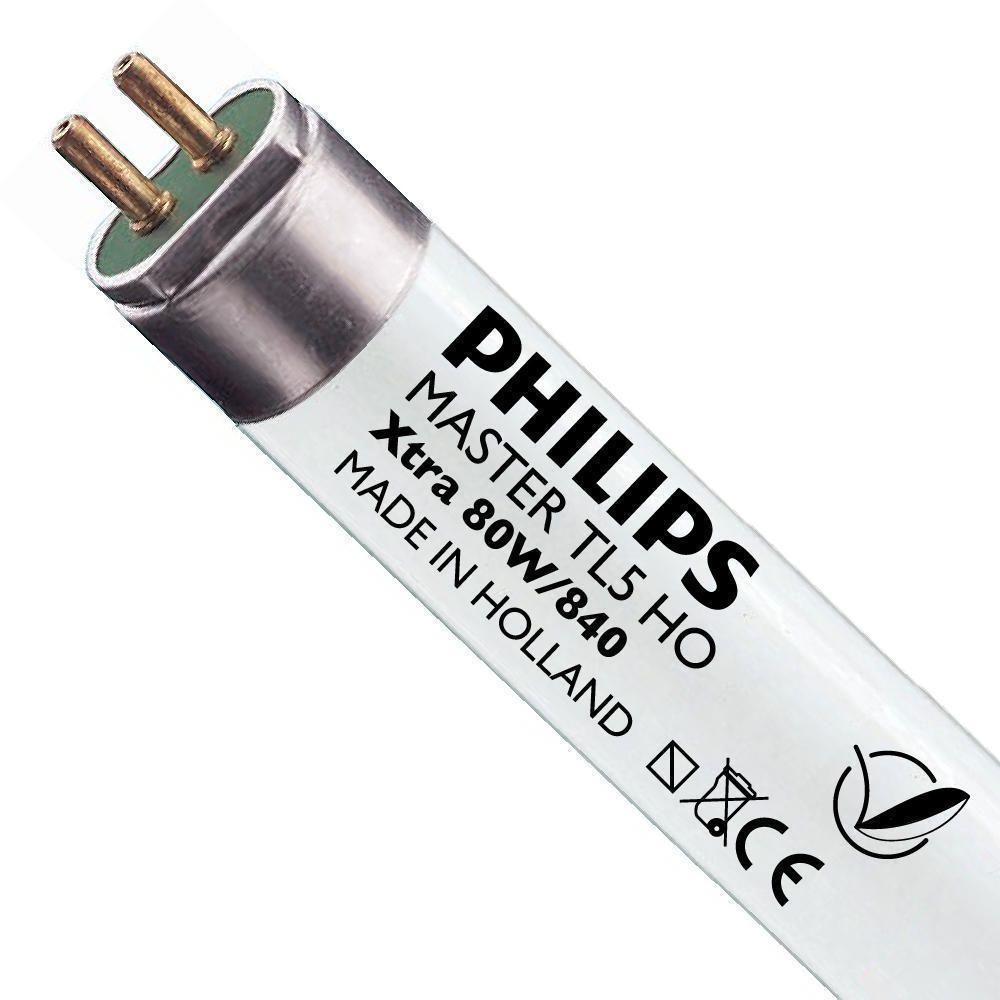 Philips TL5 HO Xtra 80W 840 (MASTER) | 145cm - kald hvit