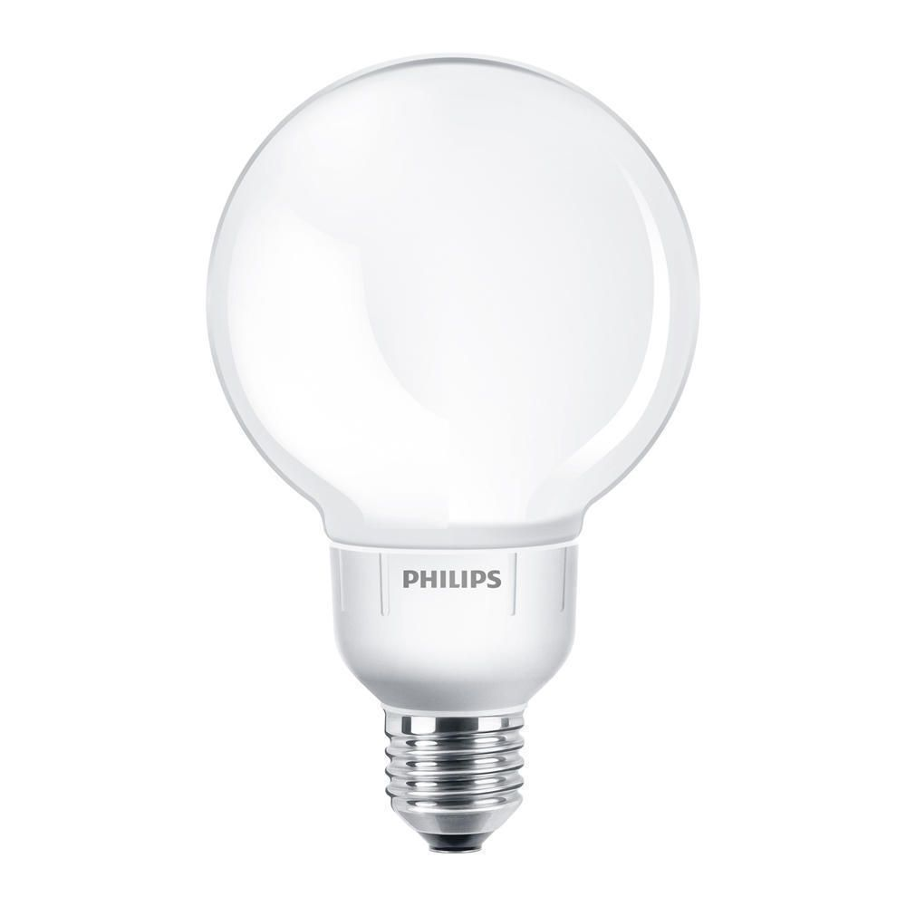 Philips Softone Globe 12W 827 E27 G93   ekstra varm hvit
