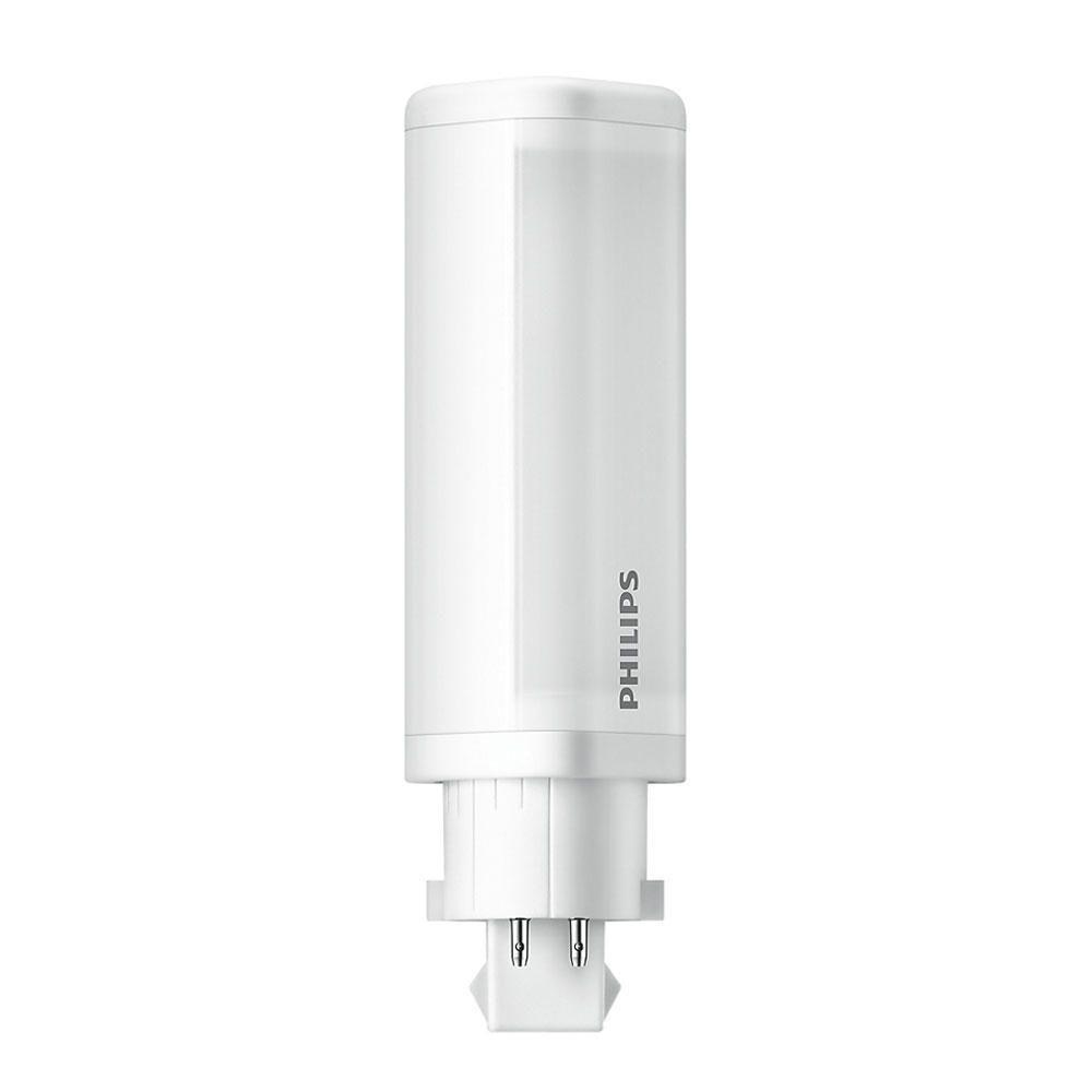 Philips CorePro PL-C LED 4.5W 830 | varm hvit - 4-stift - erstatter 10W & 13W