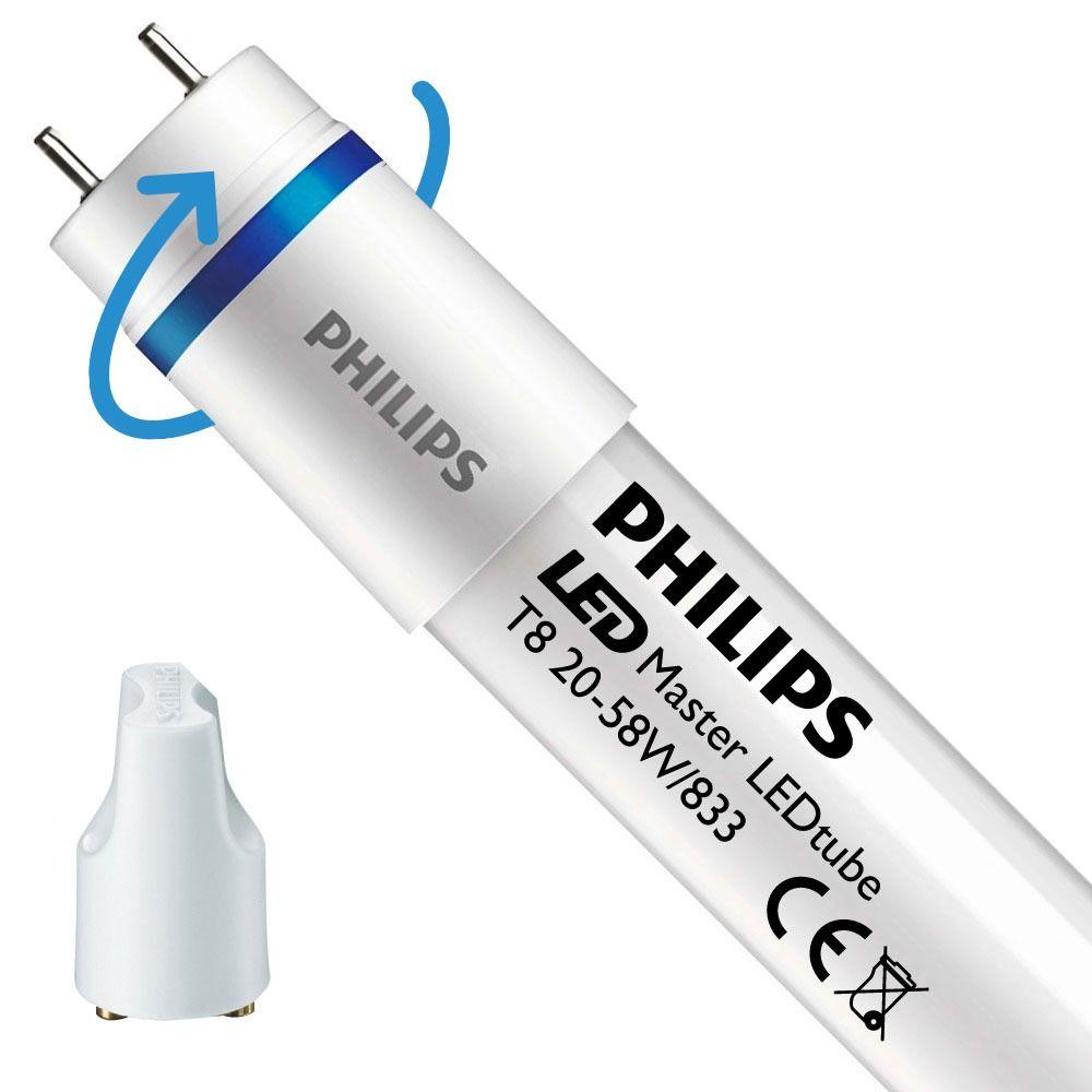 Philips LEDtube EM SO 20W 833 150cm (MASTER) | Food - LED tenner inkl. - erstatter 58W - dreibar