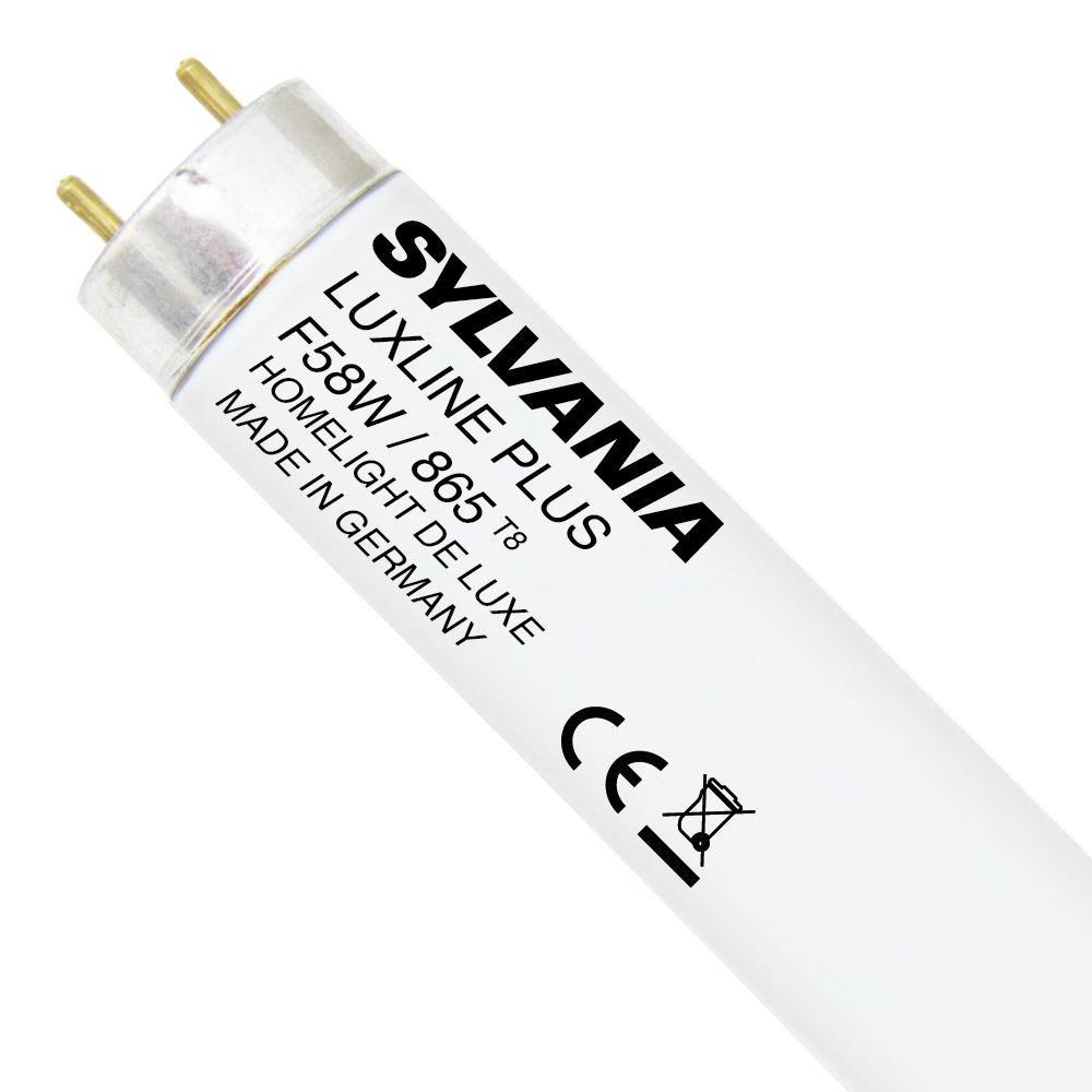 Sylvania T8 Luxline Plus F58W 865   150cm - daglys