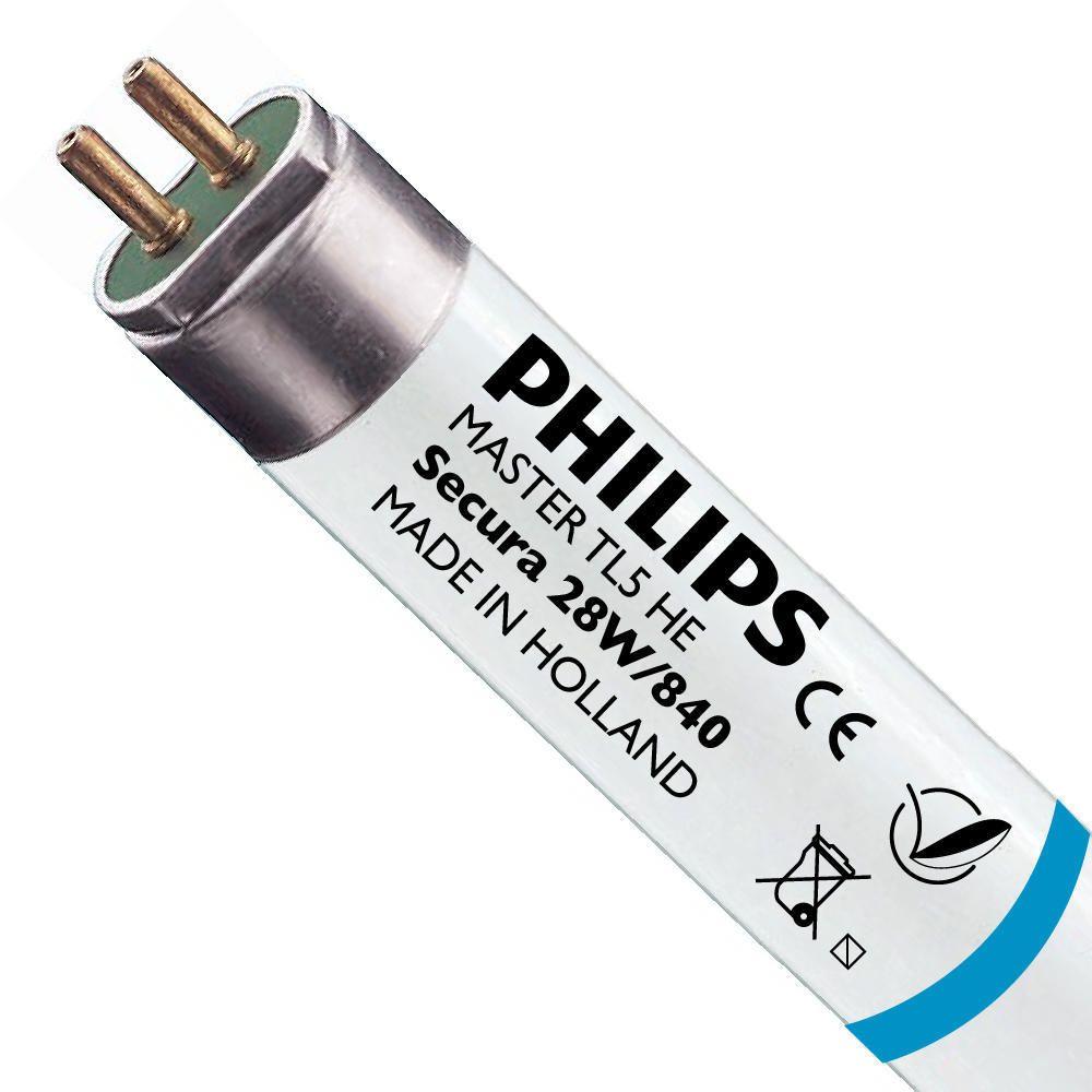 Philips TL5 HE Secura 28W 840 (MASTER) | 115cm - kald hvit