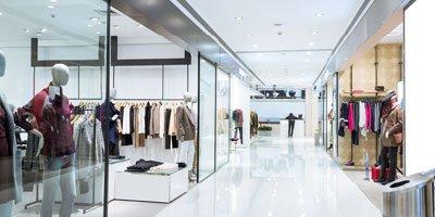 Modebutikk Belysning